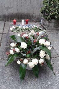 Gedenken am 22. Februar 2016 in Stadelheim, Foto: Alexa Busch